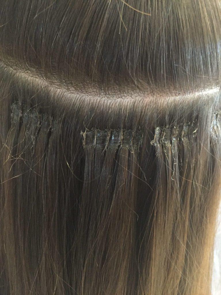رابطهای تار موهای اکستنشن با موهای طبیعی